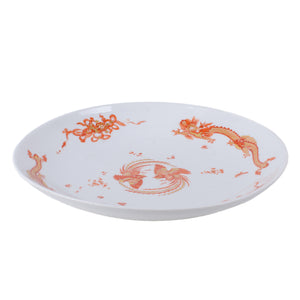 Meissen K.H.C. Royal Saxon Court Pantry Red Dragon Charger