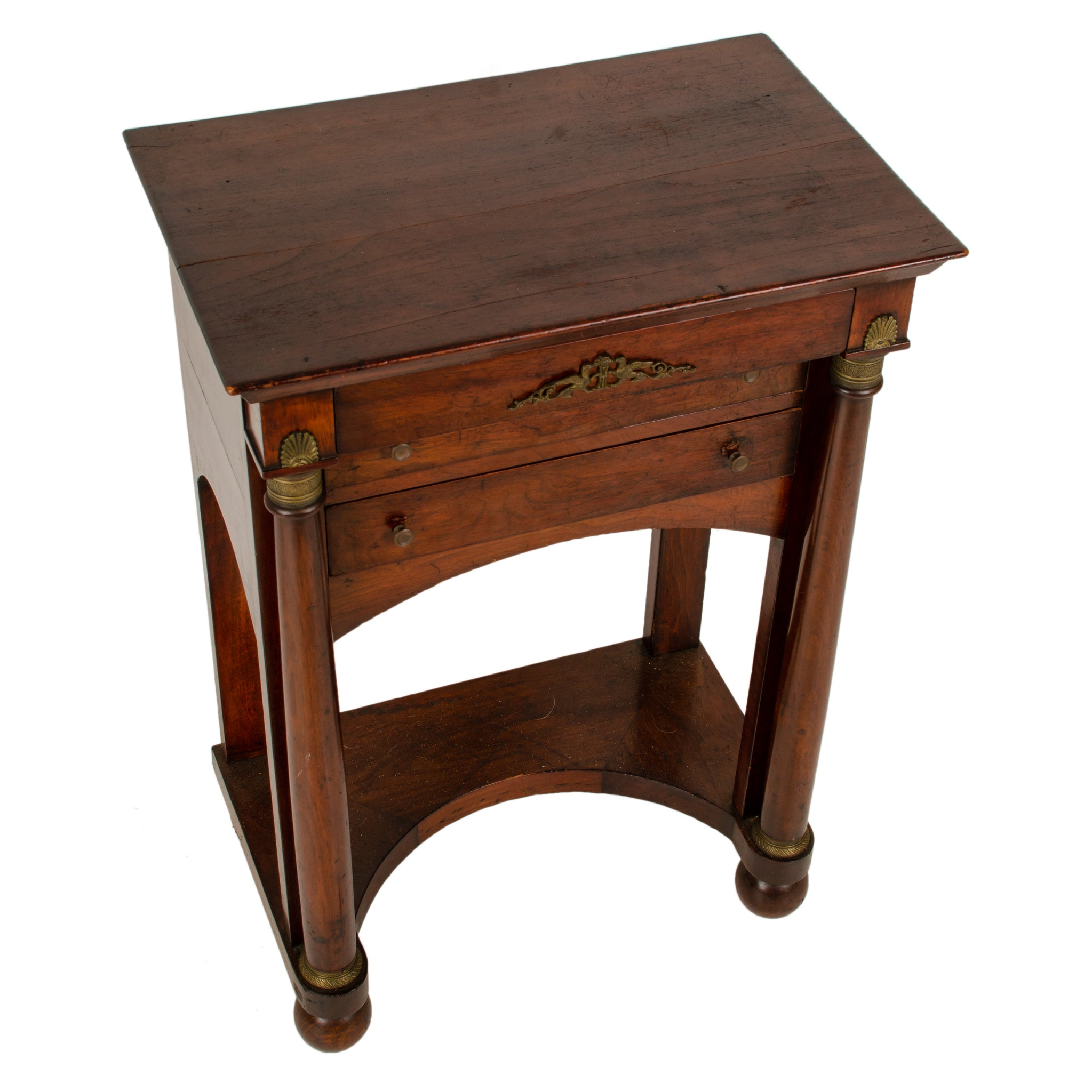 French Empire Style Side Table