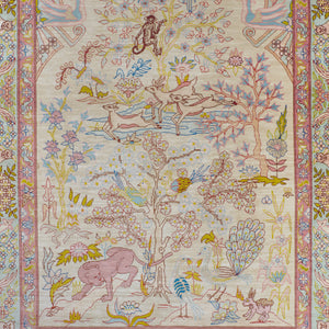 Hereke Silk Pictorial Rug