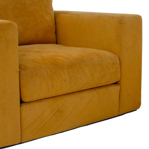 Jeffrey Bernett & Nicholas Dodziuk for Design Within Reach Suede Reid Armchairs