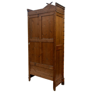 19th Century French Faux Bamboo Armoire