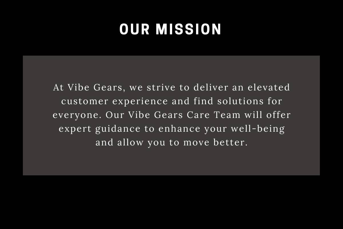 Our mission - Company Vision and Mission Statement - Vibe Gears