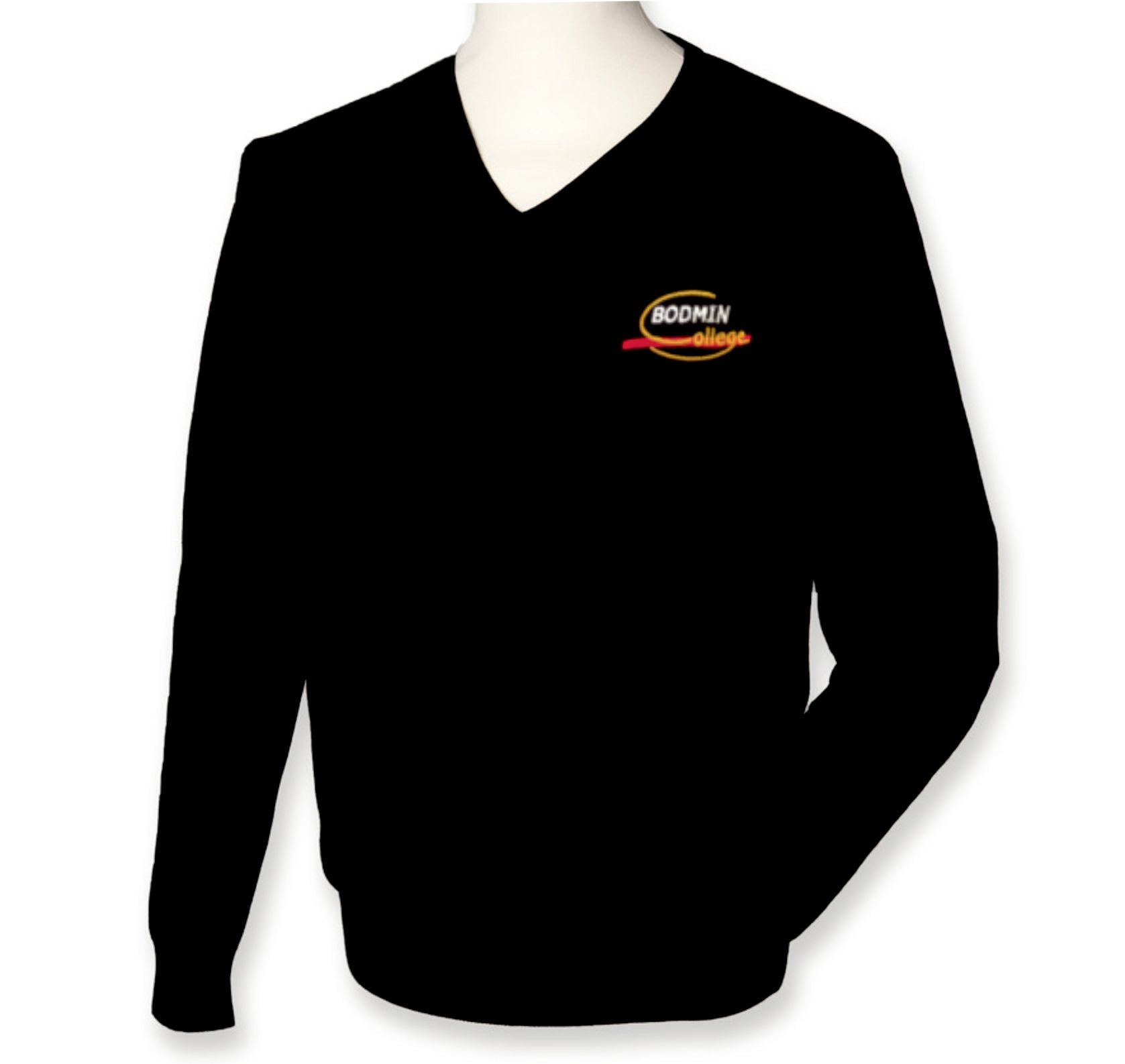 moderate price quality purchase genuine Bodmin College GIRLS - V Neck jumper