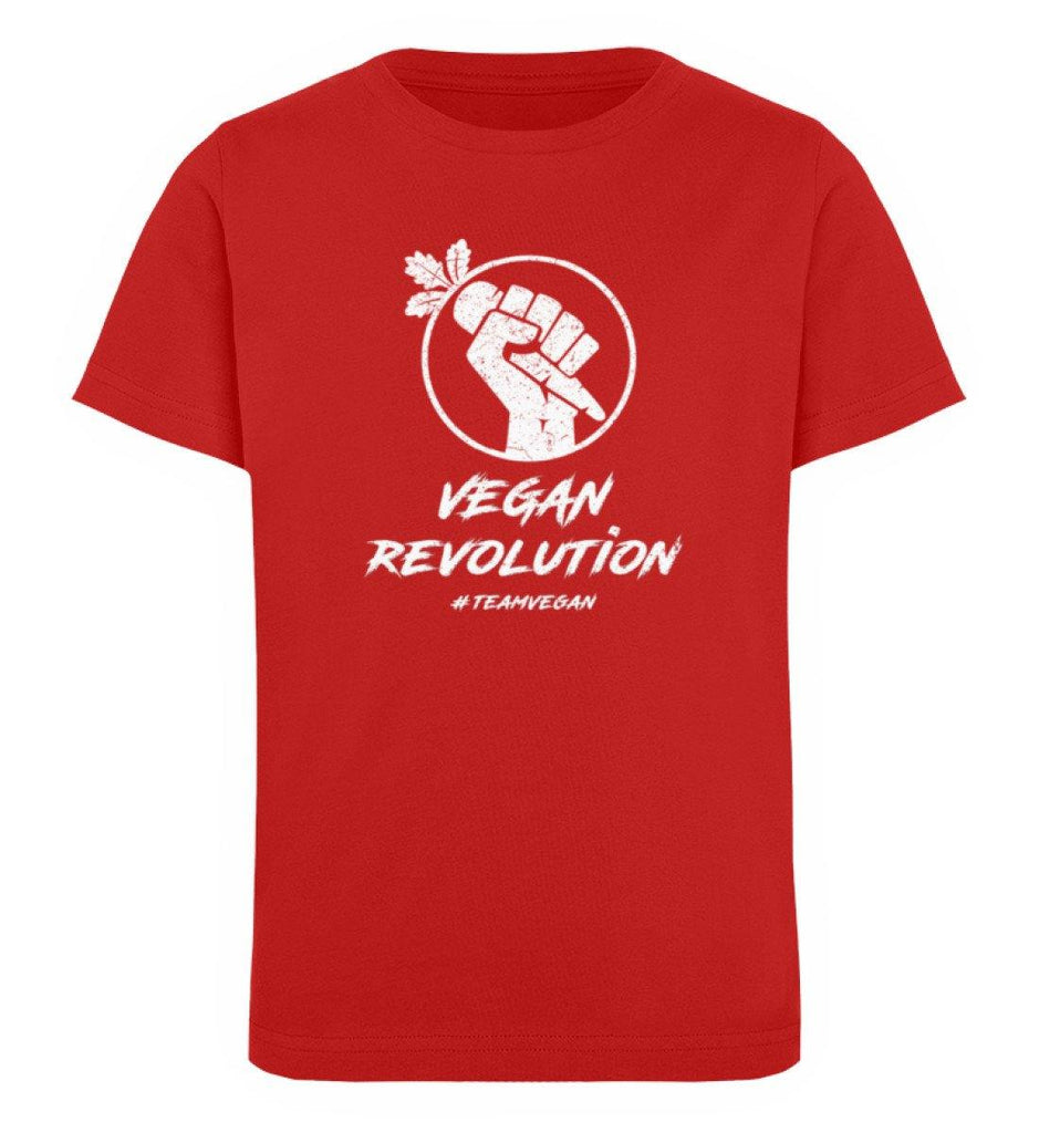 Vegan Revolution  - Kinder Organic T-Shirt - TEAM VEGAN © vegan