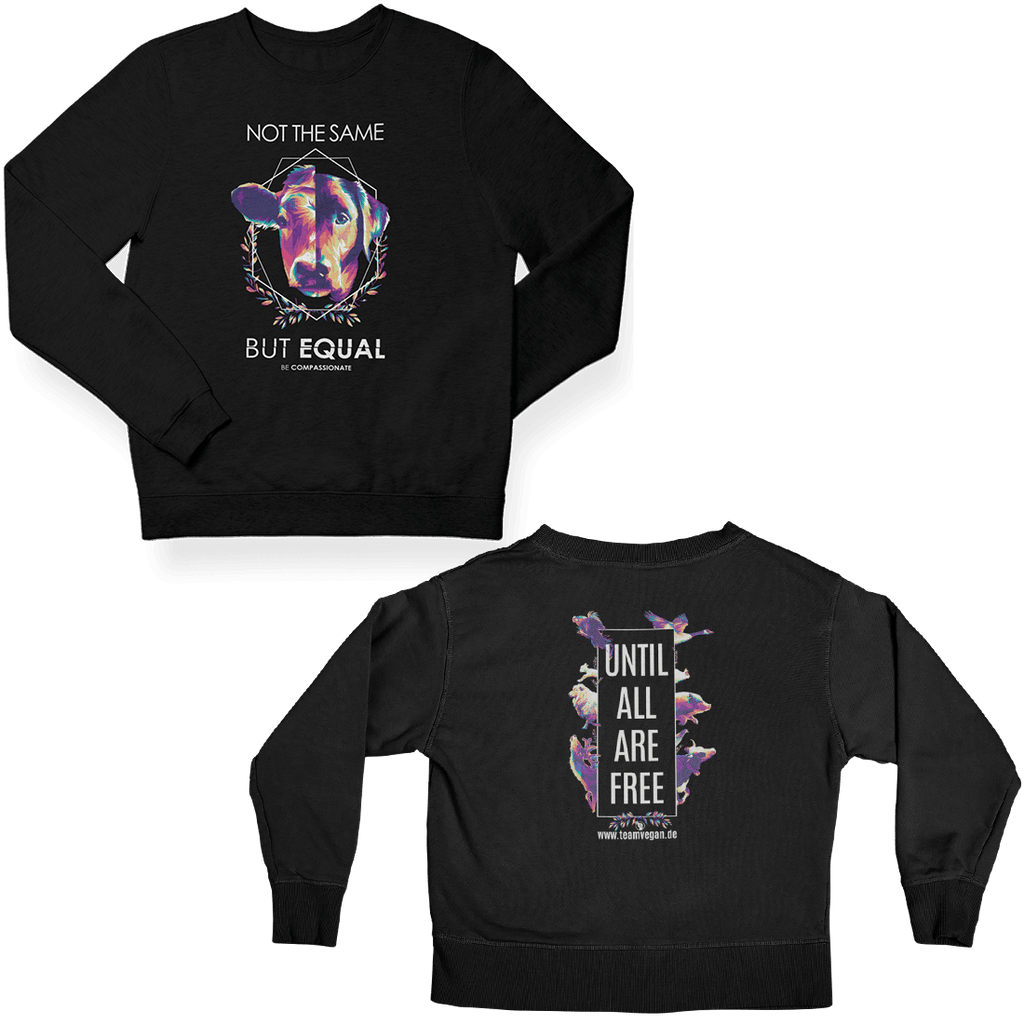 Not the same x Until all are free - Unisex Organic Sweatshirt