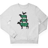 Friends not food - Unisex Organic Sweatshirt