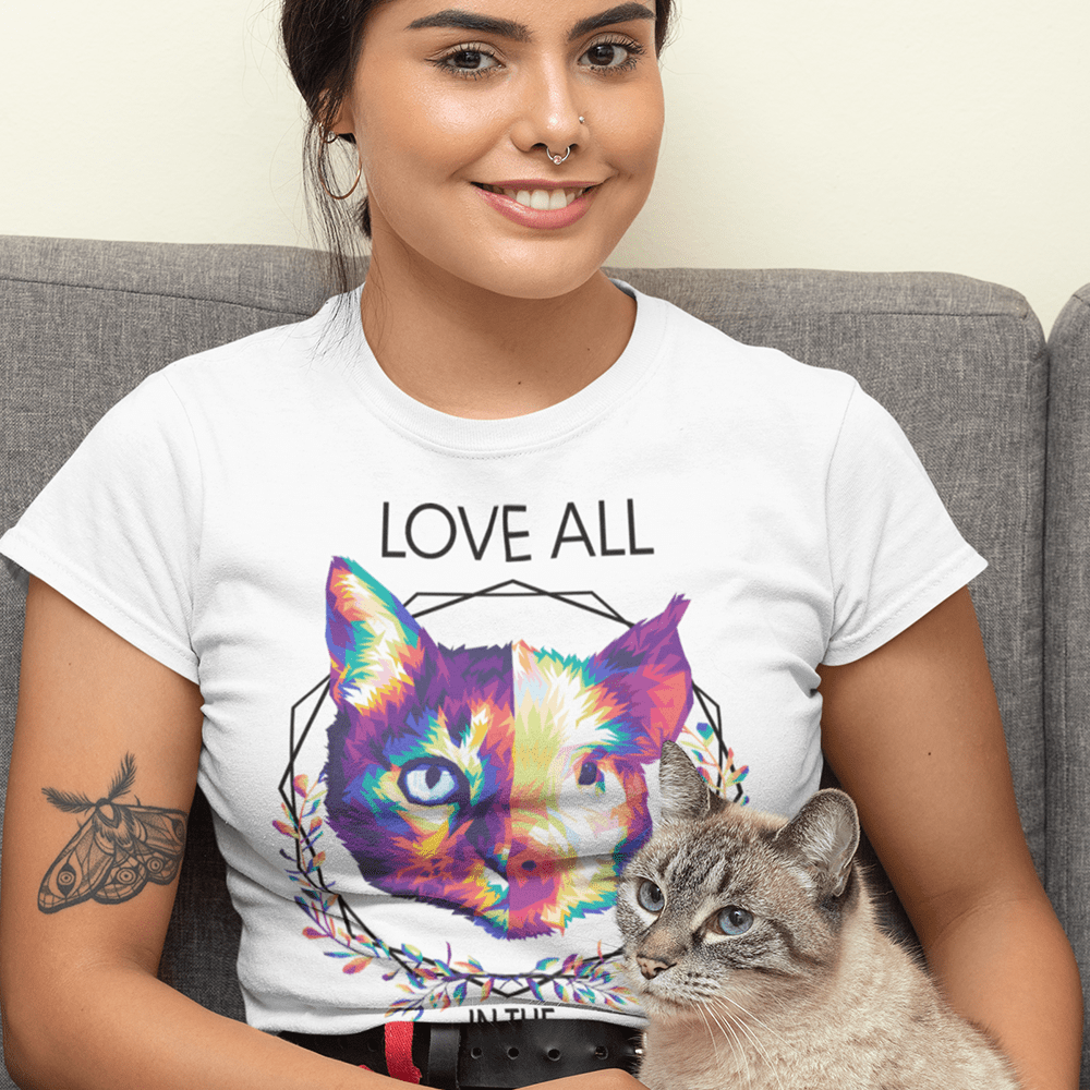Love all the same way  - Damen Organic Shirt
