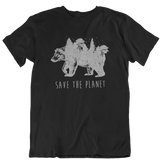 Save the planet - Unisex Organic Shirt