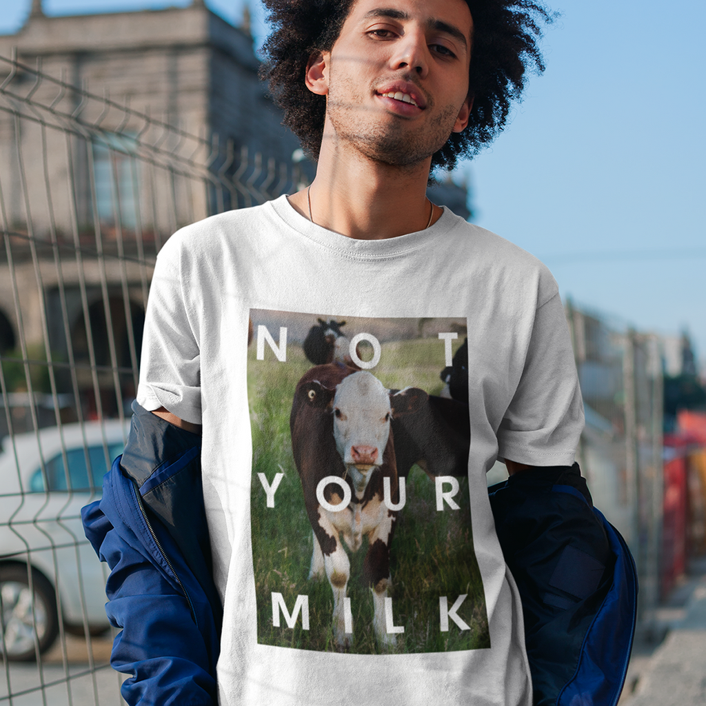 Not your milk - Unisex Organic Shirt - TEAM VEGAN © vegan