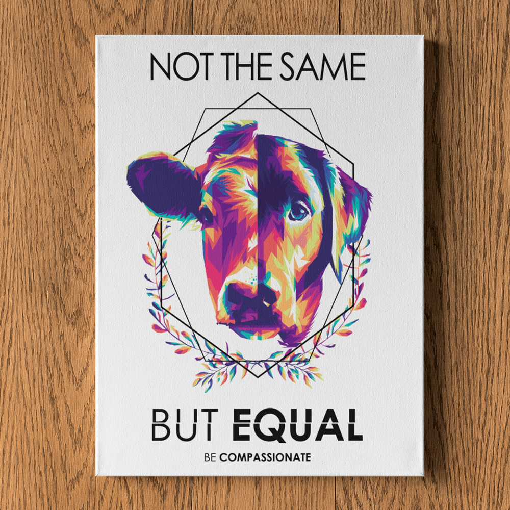 Not the same but equal - Leinwand