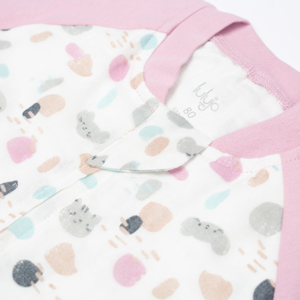 Cat + Mouse Sleep Suit 1.0 TOG Long Sleeve