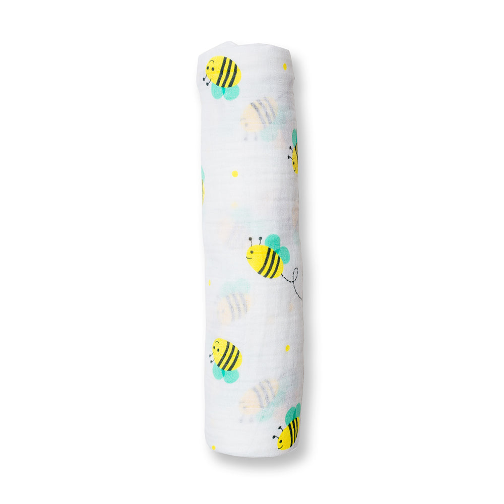 Bumbling Bee Swaddling Blanket