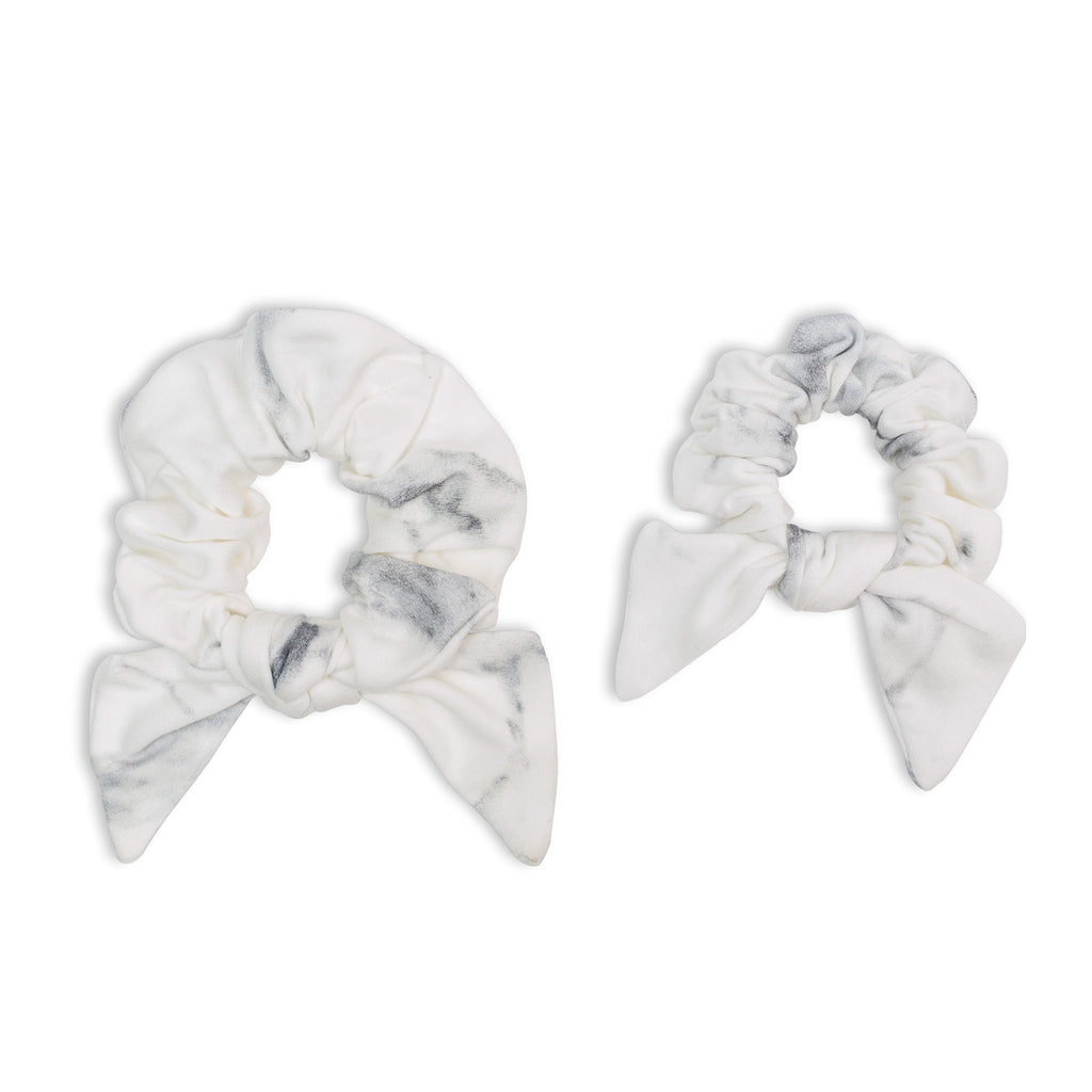 Marble Scrunchies