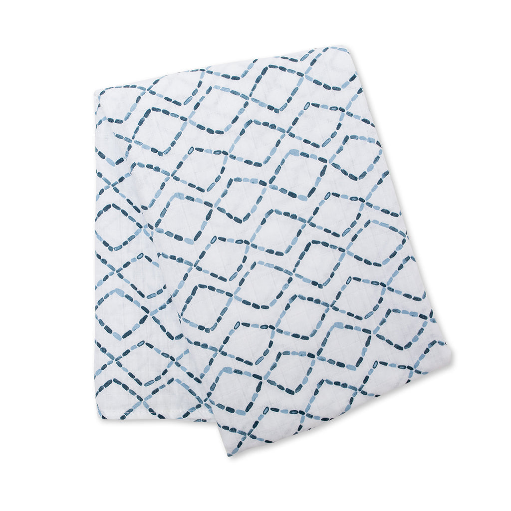 Diamond Road Swaddling Blanket