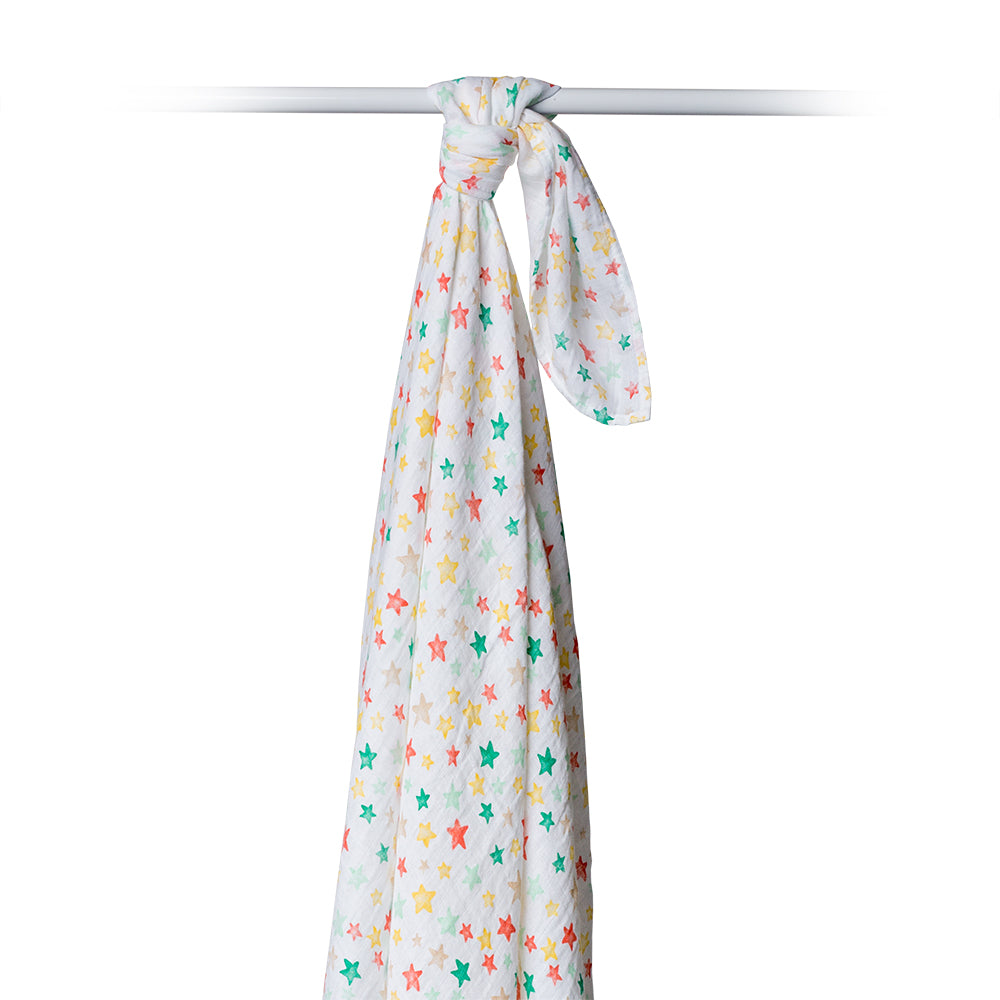 Star Bright Swaddling Blanket