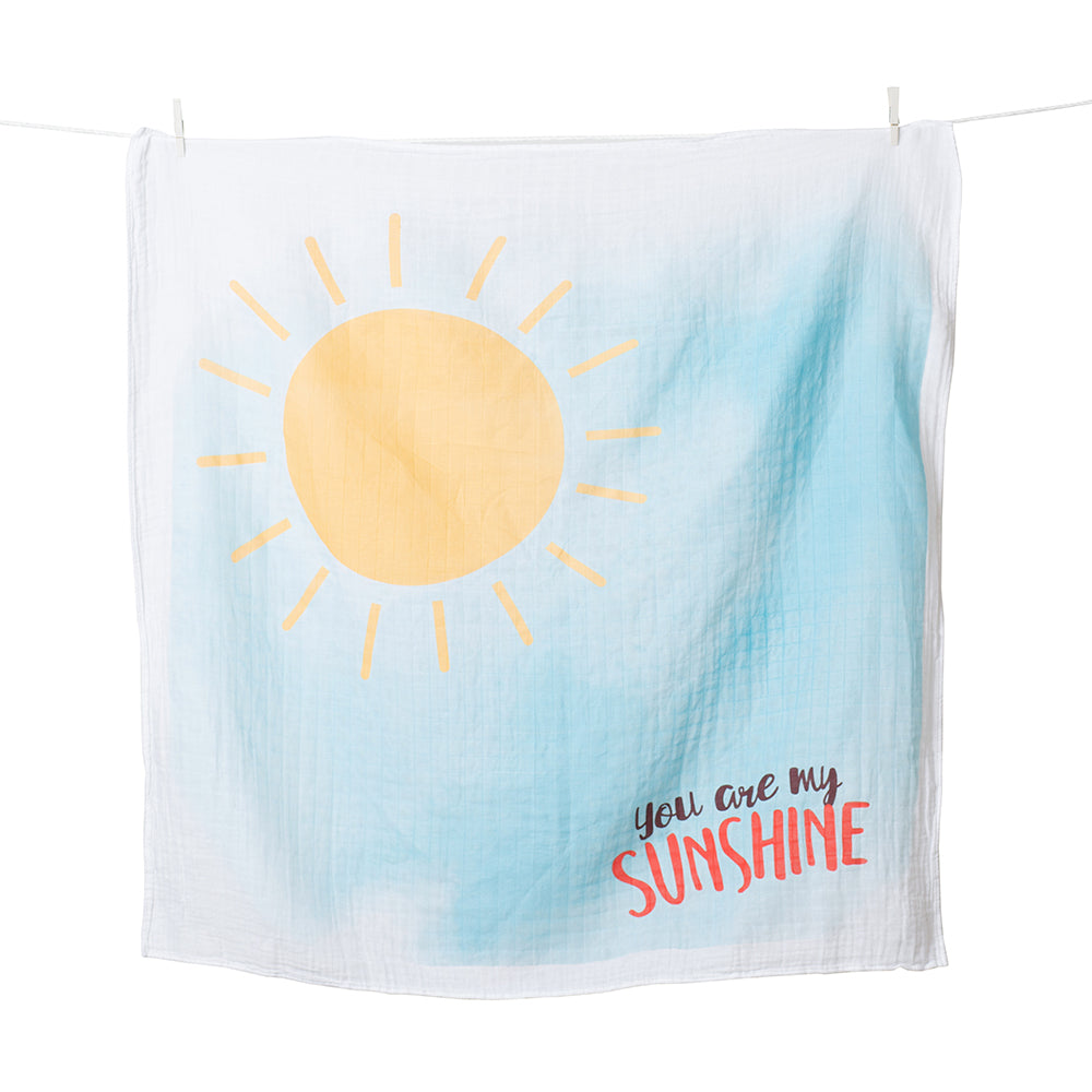 You Are My Sunshine Milestone Blanket