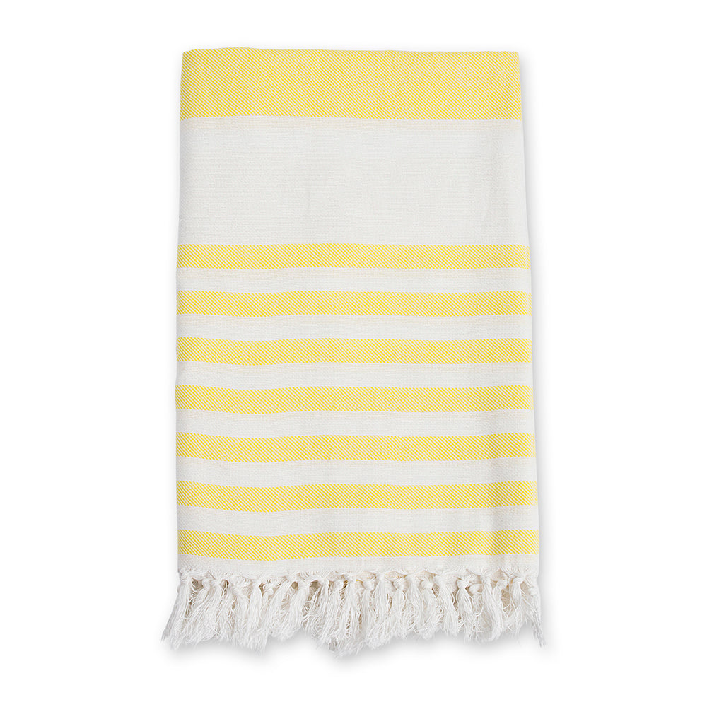 Sunshine Yellow Turkish Towel