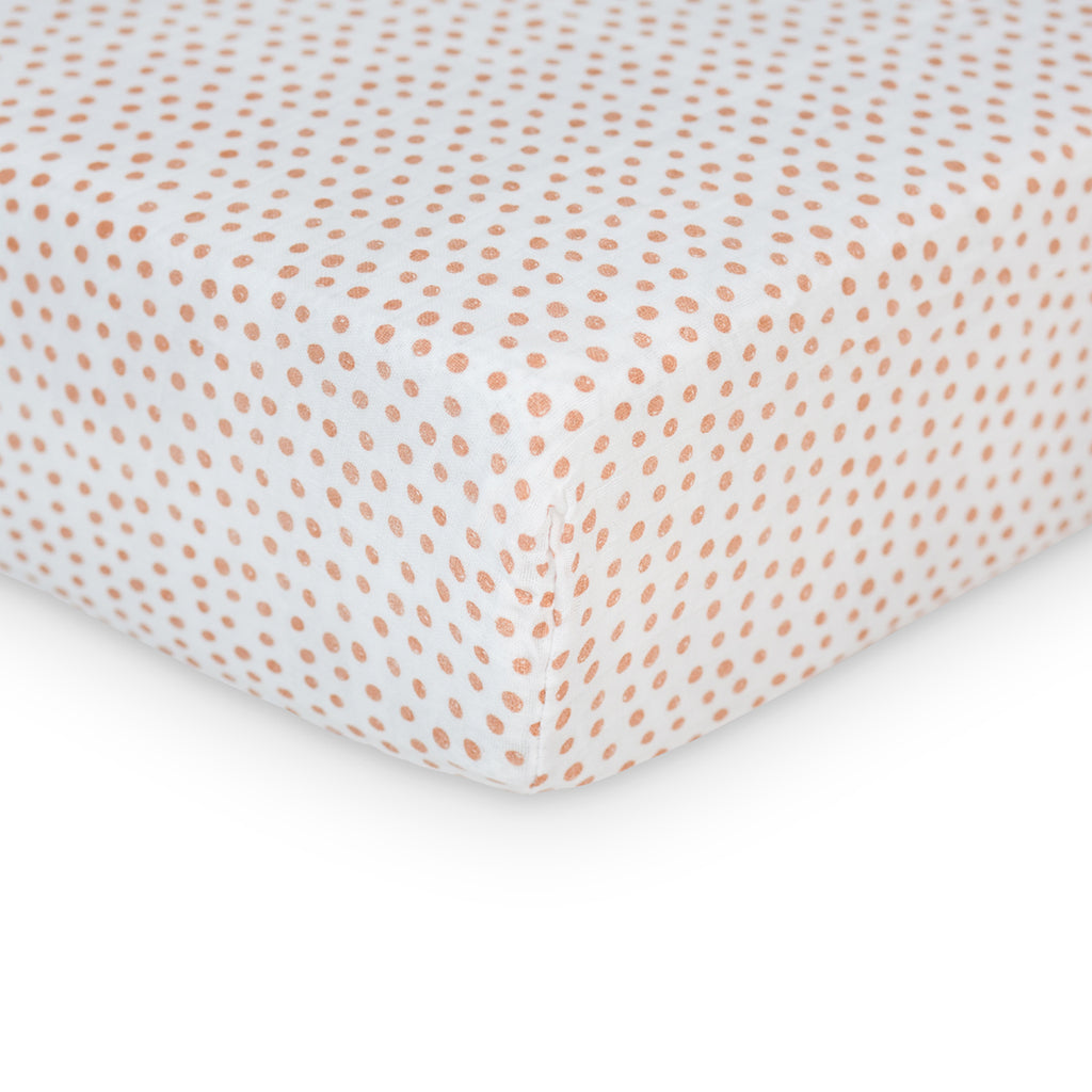 Dots Crib Sheet