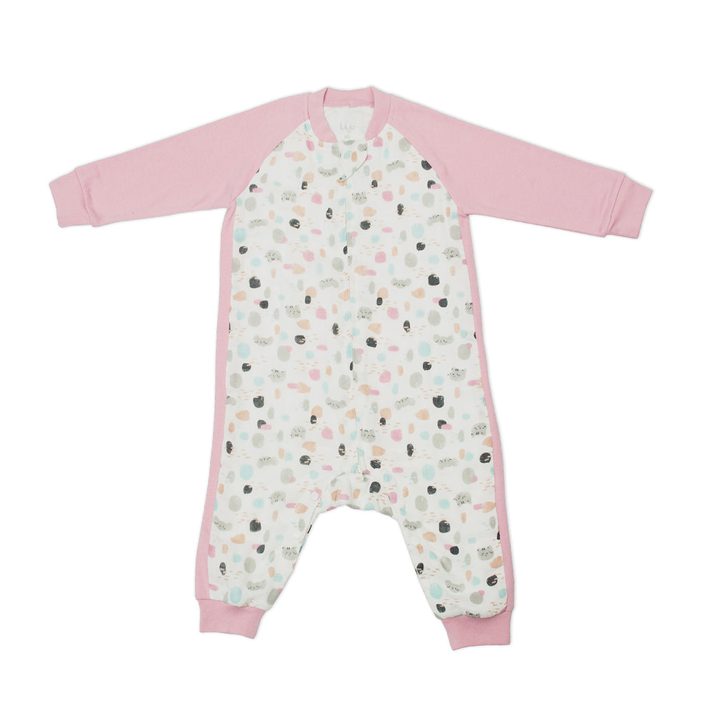 Cat + Mouse Sleep Suit 0.6 TOG Long Sleeve