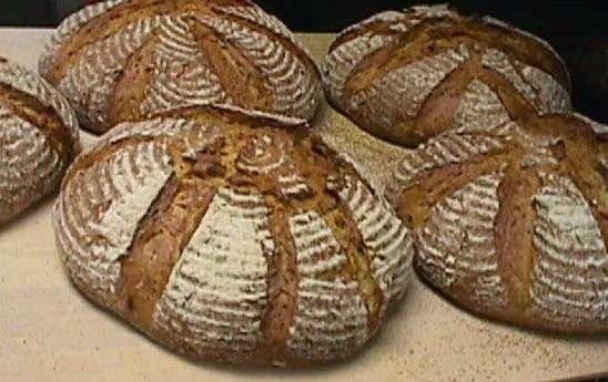 Hofer's Hausbrot (Four 2 pound loaves per case)