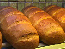 Hofer's Rye Bread (Mischbrot) (Four 2 pound loaves per case)