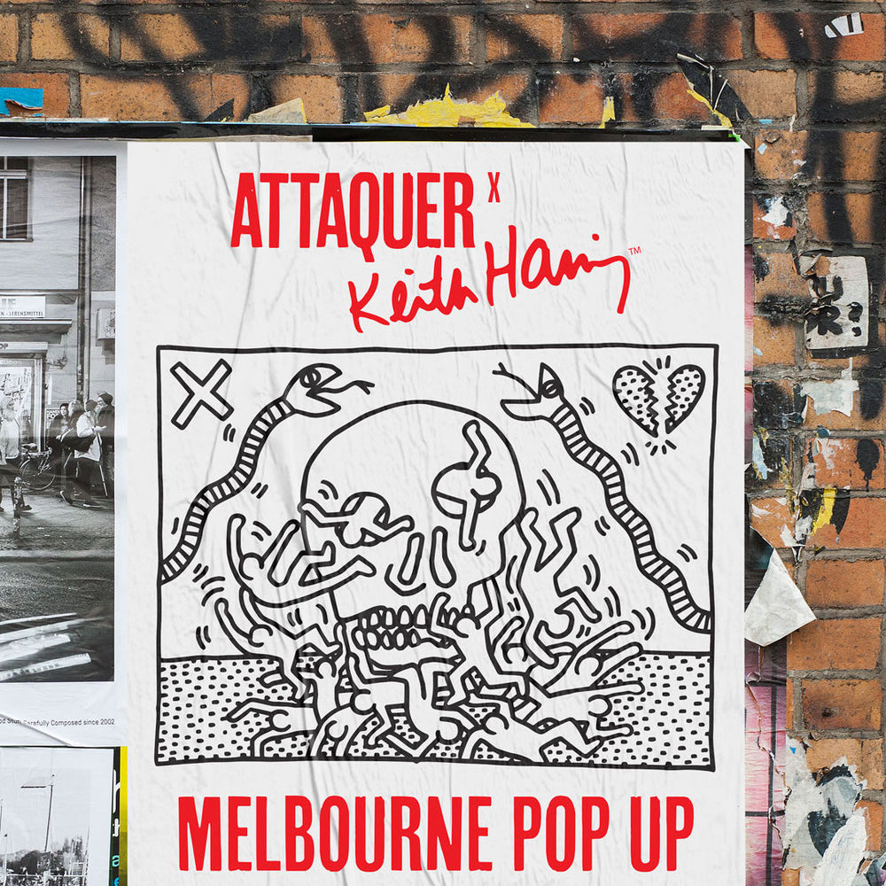 Attaquer X Keith Haring Melbourne Pop Up