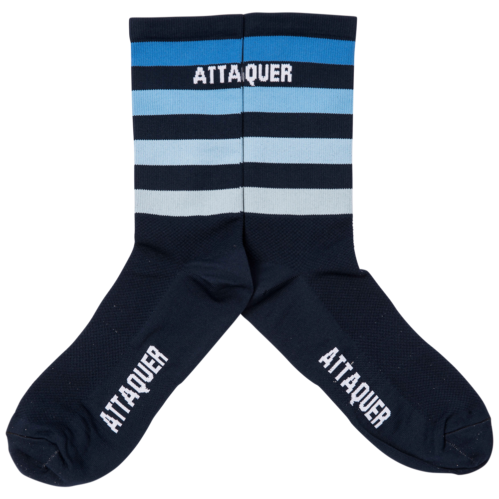 Faded Stripe Socks Navy main