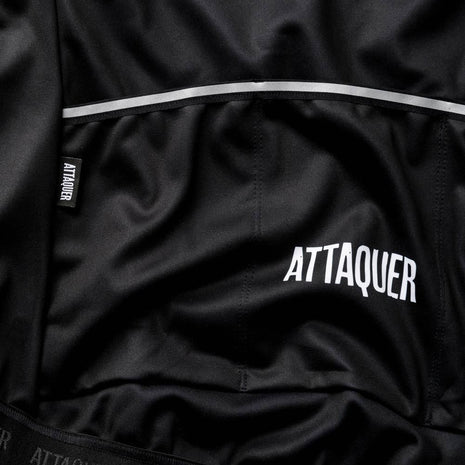 All Day Club Jacket Black detail