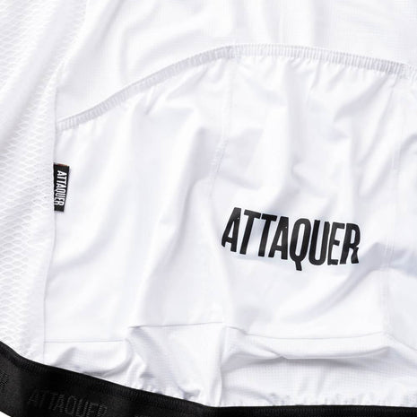 Womens Race Jersey White detail