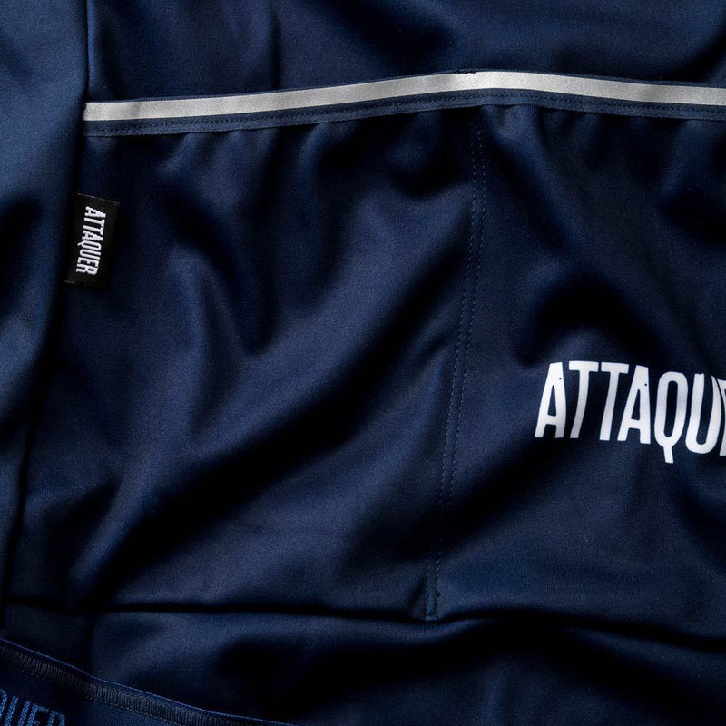 Womens All Day Club Jacket Navy detail
