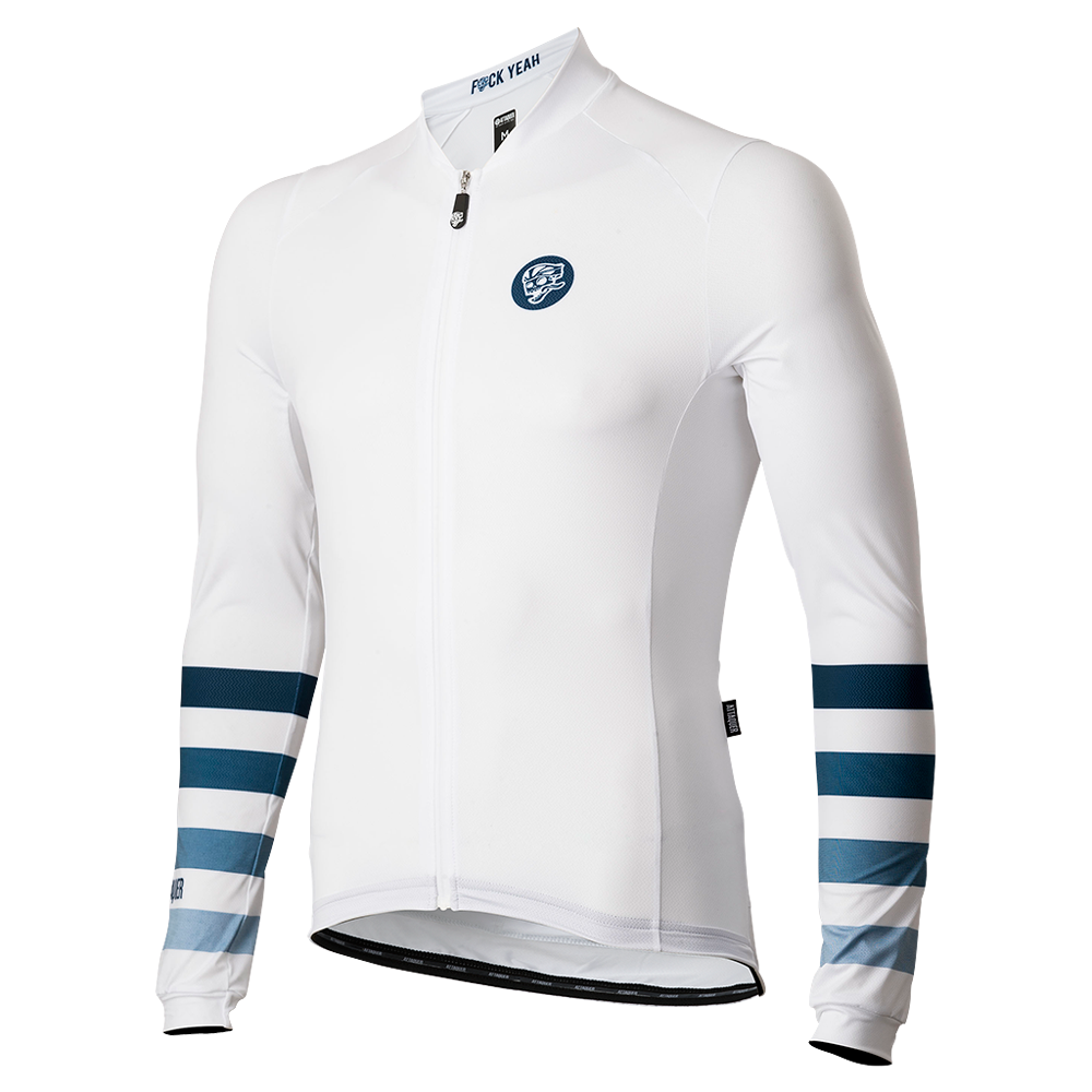 All Day Faded Stripe Summer Cycling Jersey main