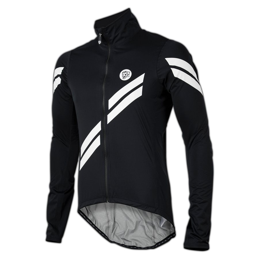All Day Arrow Stripe Rain Jacket Black main