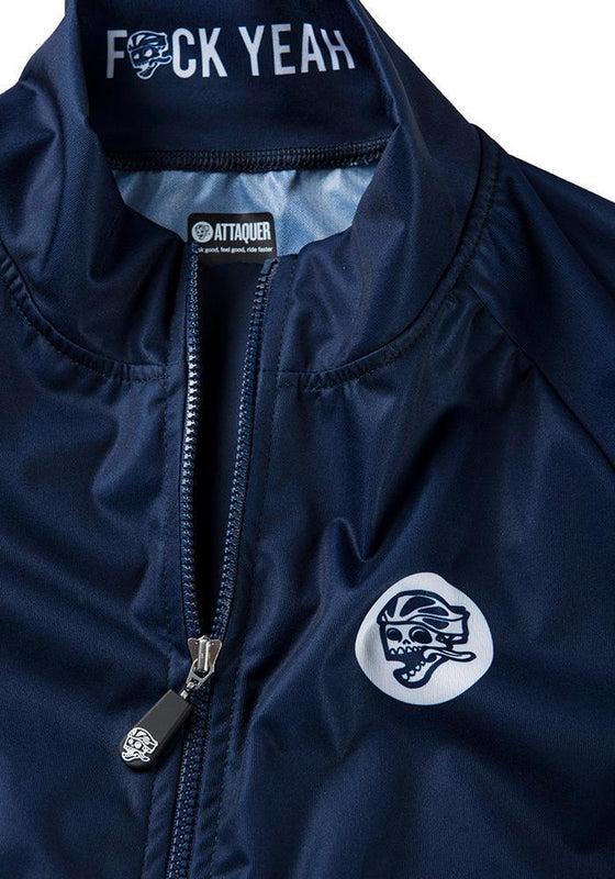 Race Gilet Navy detail
