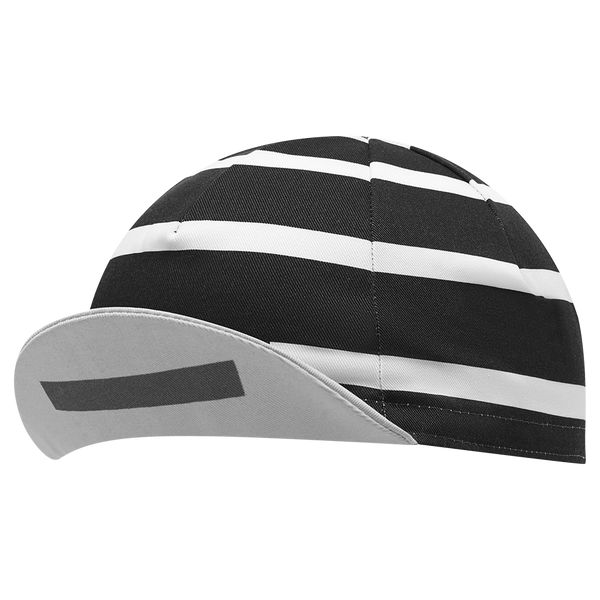 Stripe Logo Cap Black main