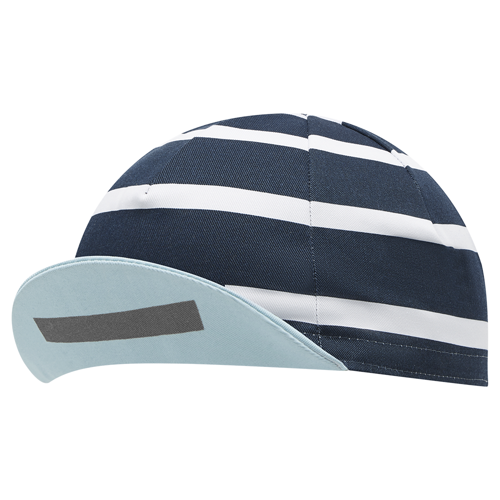 Stripe Logo Cap Navy main