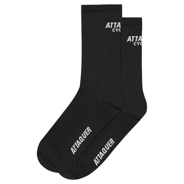 Attaquer Socks Club Black main