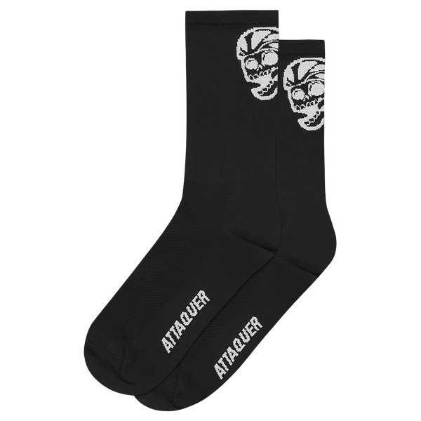 Attaquer Socks Skull Black main