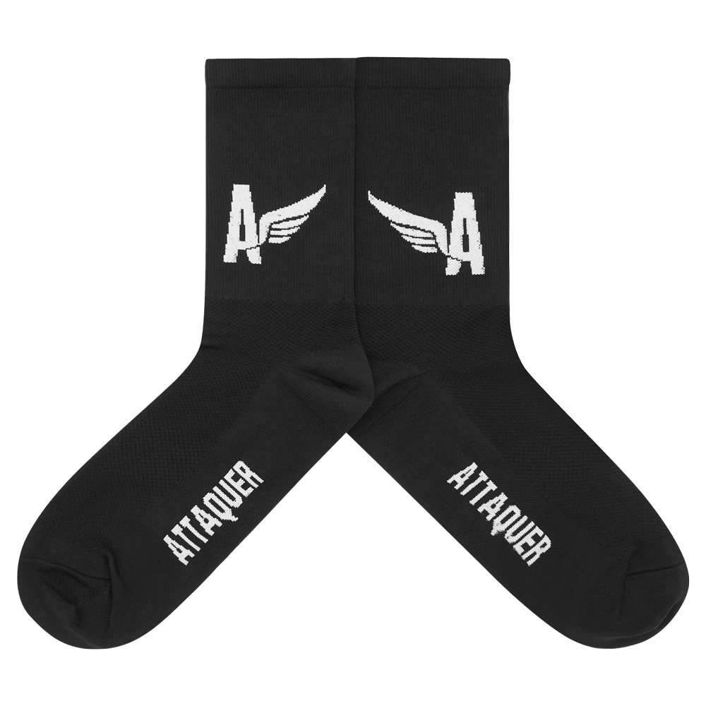 Attaquer A-Line Socks Winged main