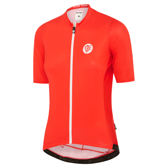 Womens Race Jersey Red main