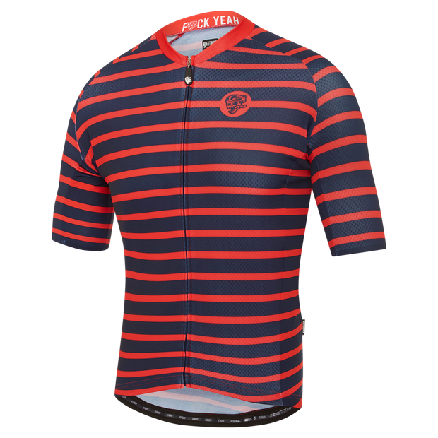 All Day Sailor Jersey Navy/Red main