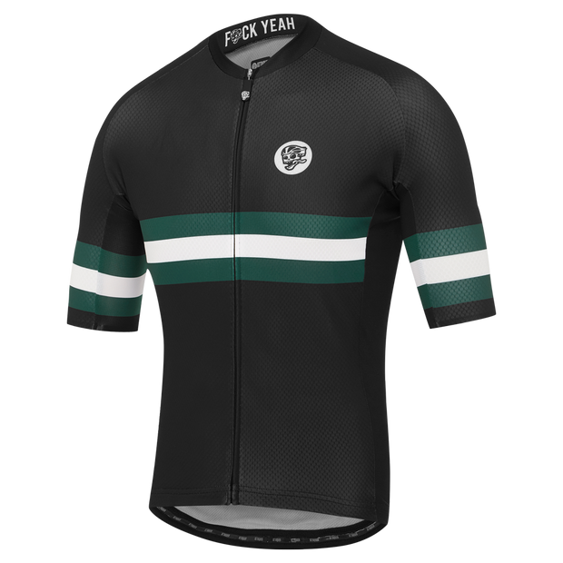 All Day Tri-Stripe Jersey Black/Forest main