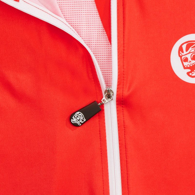 Race Jersey Red detail