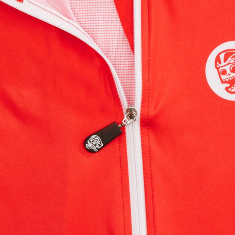 Womens Race Jersey Red detail
