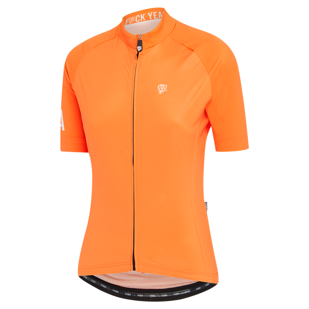 Womens A-Line Jersey Orange main