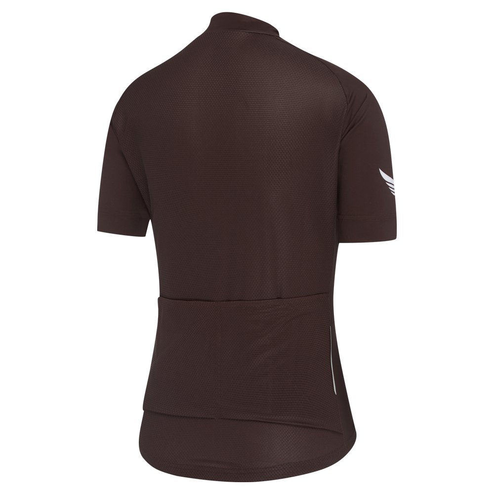 Womens A-Line Jersey Coffee main