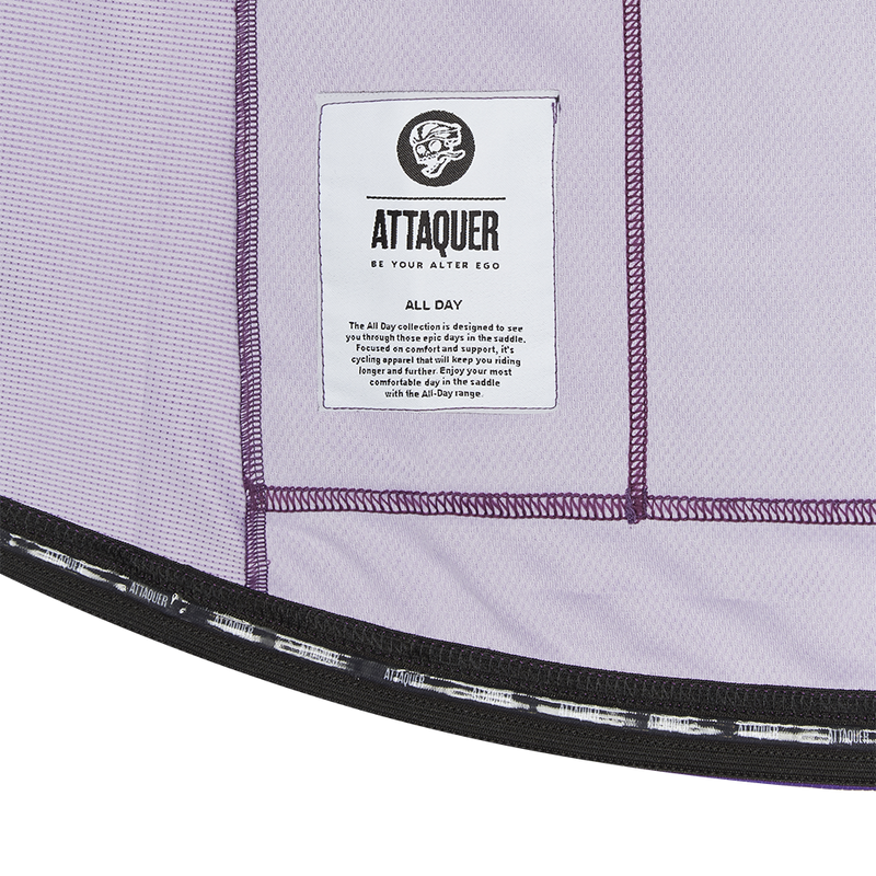 All Day Club Jersey Purple detail