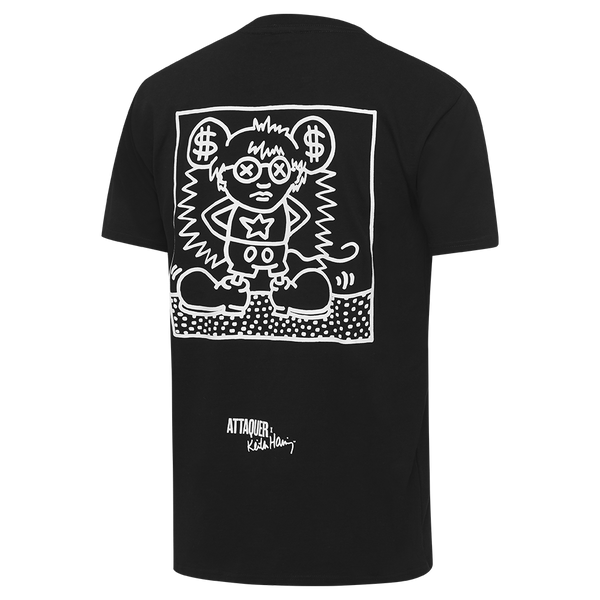 Keith Haring x Attaquer Mouse T-Shirt main