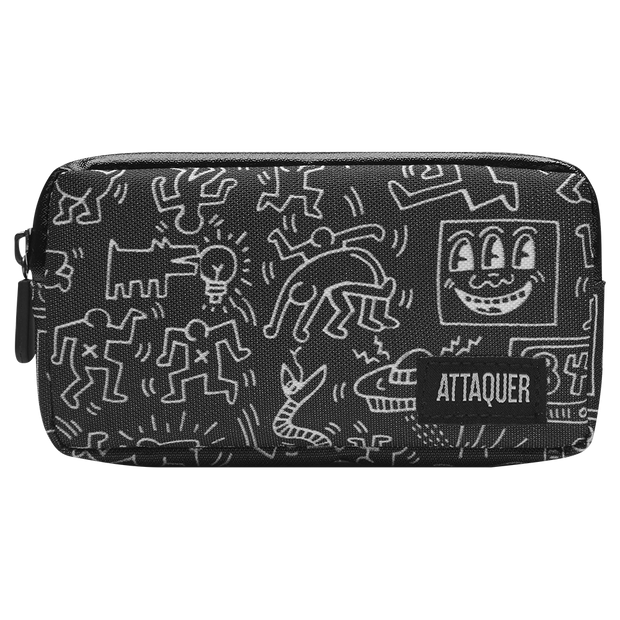 Keith Haring x Attaquer Buddies Pocket Pouch main