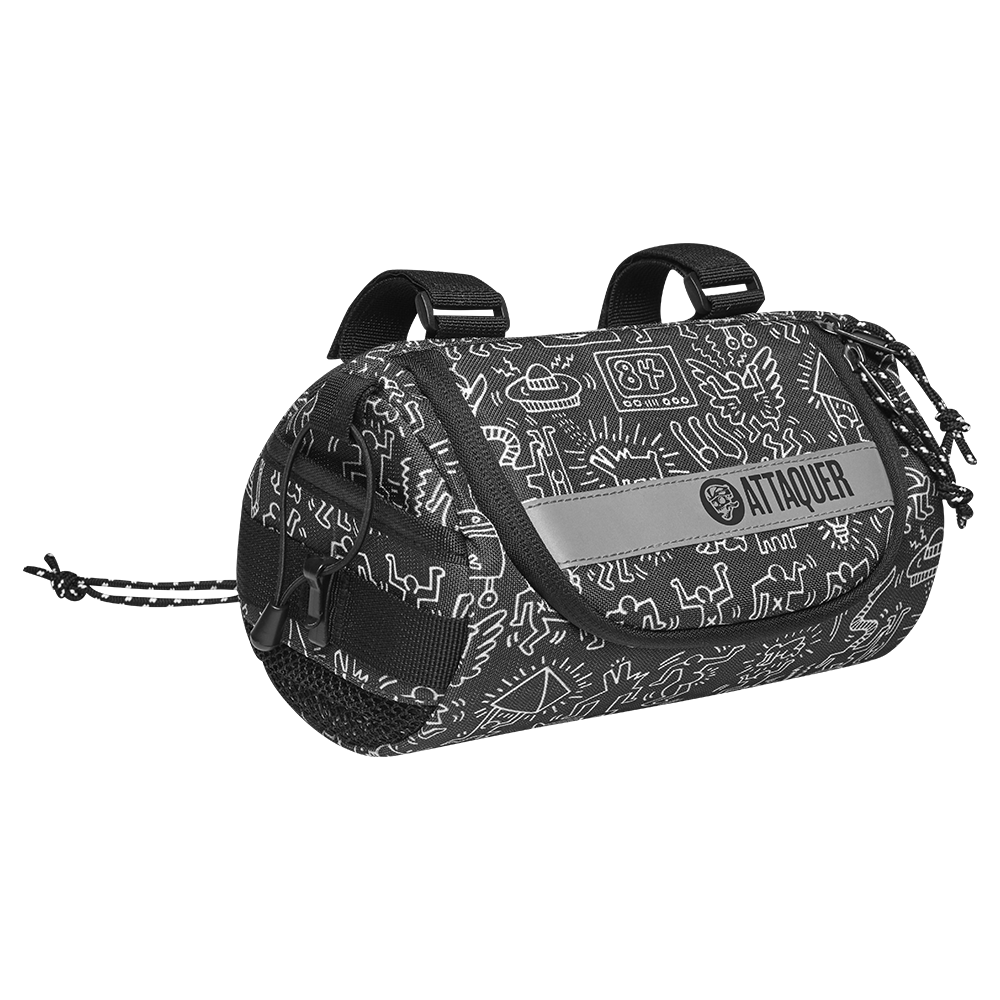 Keith Haring x Attaquer Adventure Handlebar Bag main