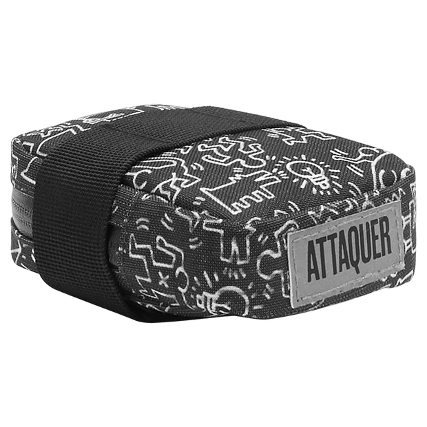 Keith Haring x Attaquer Buddies Saddle Bag main